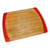 Lipper International Bamboo & Silicone Non-Slip Cutting Board