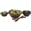 Lipper International Cherry Salad Bowl 7 Piece Set