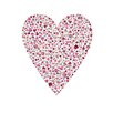 Cici Art Factory Lotsa Alphabet Art Heart Birdies Paper Print