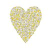 Cici Art Factory Lotsa Alphabet Art Heart Chicks Paper Print