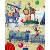 Cici Art Factory Wit & Whimsy Circus Train Canvas Art