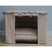 BowhausNYC Stone Beige Dog Crate Cover