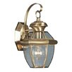 Livex Lighting Monterey 1 Light Outdoor Wall Lantern