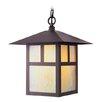 Livex Lighting Montclair Mission 1 Light Outdoor Hanging Lantern