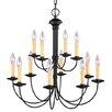 Livex Lighting Heritage 12 Light Chandelier