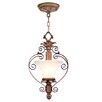 Livex Lighting Savannah  Convertible Pendant in Venetian Patina