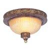 Livex Lighting Seville 2 Light Flush Mount