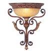 Livex Lighting Villa Verona 1 Light Wallchiere