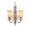 Livex Lighting Bristol Manor 3 Light Convertible Mini Chandelier
