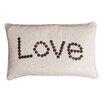 Thro by Marlo Lorenz Catalina Love Coconut Button Lumbar Pillow