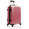 "Traveler's Choice Freedom Lightweight Hard-shell 25"" Spinner Suitcase in Pink"