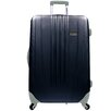 "Traveler's Choice Toronto 29"" Expandable Hardsided Spinner Suitcase in Black"