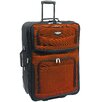 "Traveler's Choice Amsterdam 29"" Expandable Rolling Upright in Orange"