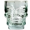Kikkerland 1.5 oz. Skull Shot Glass (Set of 4)