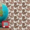 "Aimee Wilder Designs 15' x 28"" Squirrels Wallpaper (Set of 2)"