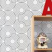 "Aimee Wilder Designs Diorama Crop Circles 15' x 21"" Geometric Wallpaper (Set of 2)"