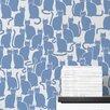 "Aimee Wilder Designs Diorama 15' x 28"" Shadowcat Wallpaper (Set of 2)"