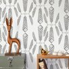 "Aimee Wilder Designs Diorama Indian Summer 15' x 28"" Floral Wallpaper (Set of 2)"