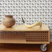 "Aimee Wilder Designs Analog 15' x 27"" Sumo Wallpaper (Set of 2)"