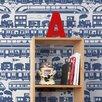 Aimee Wilder Designs Journey 15' x 27'' Robo Rail Wallpaper (Set of 2)