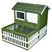 Ware Manufacturing Rabbit Ranch Hutch and Pen Combo