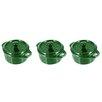 Staub 0.25 Qt. Porcelain Round Mini Cocotte (Set of 3)