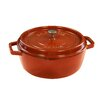 Staub Cast Iron Wide Round Shallow Cocotte