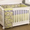 Cotton Tale Periwinkle 4 Piece Crib Bedding Set