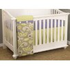Cotton Tale Periwinkle 3 Piece Crib Bedding Set