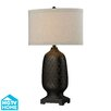 """Dimond Lighting HGTV Home Modern Heritage 31"""" H Table Lamp with Drum Shade"""