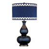 """Dimond Lighting Gourd 28"""" H Table Lamp with Drum Shade"""