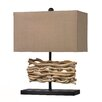 "Dimond Lighting HGTV Home Voyage Neach 21"" H Table Lamp with Rectangular Shade"