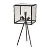 "Dimond Lighting Workshop Cube 28"" Table Lamp with Square Shade"