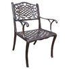 Oakland Living Mississippi Dining Arm Chair