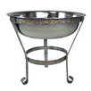 """Oakland Living 20"""" Stainless Steel Ice Bucket with Stand"""