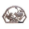 Frogs Aluminum Wall Mounted Hose Holder - Finish: Antique Bronze - Oakland Living Hose Reels