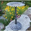 Oakland Living Sunflower Butterfly Bird Bath