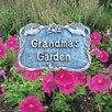 Grandma's Garden Stake - Color: Antique Bronze - Oakland Living Garden Statues and Outdoor Accents