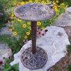 Hummingbird Birdbath - Color: Antique Bronze - Oakland Living Bird Baths