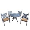 Darby Home Co Vandyne 5 Piece Round Dining Set with Cushions