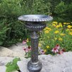 Pedestal Plant Stand Finish: Antique Pewter - Oakland Living Planters