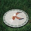 Mosaic Eagle Stepping Stone - Oakland Living Garden Statues and Outdoor Accents