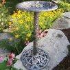 Hummingbird Birdbath - Color: Antique Pewter - Oakland Living Bird Baths