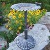 Butterfly Sunflower Birdbath - Oakland Living Bird Baths