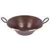 Premier Copper Products Old World Miners Pan Vessel Bathroom Sink