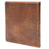 """Premier Copper Products 4"""" x 4"""" Hammered Copper Tile in Oil Rubbed Bronze (Set of 8)"""