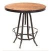 Yosemite Home Decor Adjustable Height Pub Table