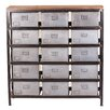 Yosemite Home Decor 15 Drawers Accent Chest