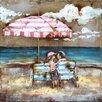 Yosemite Home Decor Couple on the Beach Painting