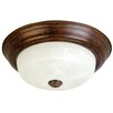 "Yosemite Home Decor Belen 16"" 2 Light Flush Mount"